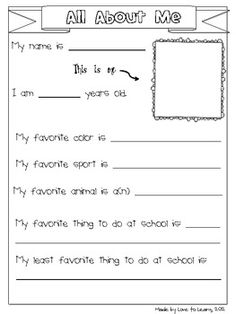 BACK TO SCHOOL - ACTIVITIES FOR GRADES 3-5 (INTERMEDIATE) - TeachersPayTeachers.com