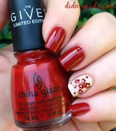 Twinsie Tuesday: Accent Nail