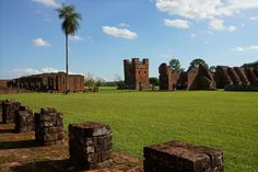 Clock tower - Jesuit Reduction of Trinidad - Paraguay