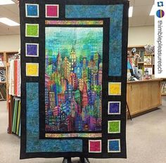 Quilt Pattern By Sweet Tea Girls Pattern Panel Quilt Idea Quilt Patterns Made With Panels Making Quilts With Panels Quilts With Fabric Panels Quilting Projects, Quilting Designs, Quilting Ideas, Fabric Panel Quilts, Baby Quilt Panels, Bed Quilts, Quilt Boarders, Quilt Blocks, Asian Quilts