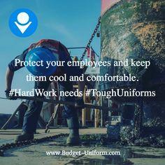 We provide #ToughUniforms for #ToughJobs #WorkUniforms #ManufacturingUniforms #IndustrialUniforms