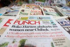 Good morning Nigeria and the rest of the world. Welcome to the Baba News roundup of top 10 Nigerian newspapers headlines for today, Wednesday, April Headlines Today, Newspaper Headlines, Presidential Polls, Nigerian Newspapers, Boko Haram, Politics, Wednesday, Thursday, Top