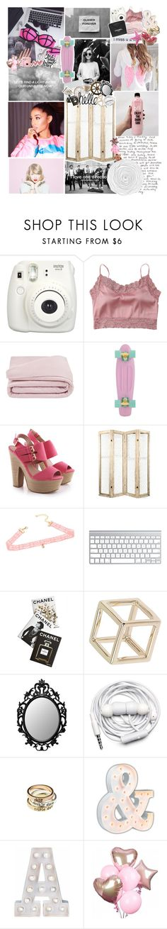 """""""do you wanna meet me in the club😜"""" by focusongigi ❤ liked on Polyvore featuring Gucci, Fujifilm, Satìne, Frette, Chanel, Assouline Publishing, Authentic Models, Topshop, Urbanears and American Eagle Outfitters"""