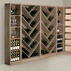 14 Chic DIY Wine Racks for Your Vino Collection via Brit + Co ...