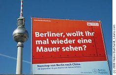 Berliner Flughafen Werbung