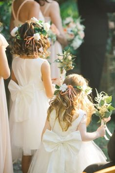 flower girls | Binaryflips Photography | Glamour & Grace