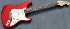 2007 Fender Standard Stratocaster MIM Candy Apple Red CAR Strat #Fender Candy Apple Red, Candy Apples, Red Apple, Fender Guitars, Over The Years, Car, Automobile, Cars
