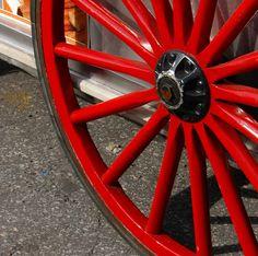 Red Wheel detail, Battery Park, New York City - Llanos Colon