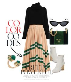 Monday mood by gloria-trejo on Polyvore featuring polyvore, fashion, style, Chloé, Valentino, Salvatore Ferragamo, Prada, Stephen Webster, Le Specs and clothing