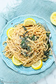 This kale lemon pasta is just plain sensational. Done in less than 20 minutes, refreshing, tasty and healthy for you. A winner recipe that it is sure to satisfy you these hot summer months.