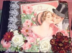 Scrappiness: Mon Amour album tutorial:)