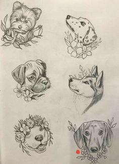 #tattoo #tatuagem #ink #inked #bodymodification #alineymarques #dog #blackandwhite #siberianhusky #huskysiberiano #boxer #yorkshire #dalmata #pitbull #dachshund #dalmatian