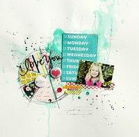 A Project by Eb1 from our Scrapbooking Gallery originally submitted 09/27/13 at 08:49 PM