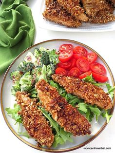 Pecan Dijon Chicken Tenders are a great low carb, gluten-free and Paleo dinner that takes minutes to prepare! | lowcarbmaven.com