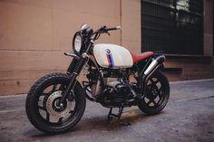R100 Scrambler: Hazan Motorworks
