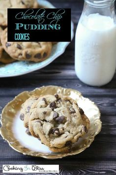 You have to try this chocolate chip cookies with pudding recipe! It's one of the best cookies I made.