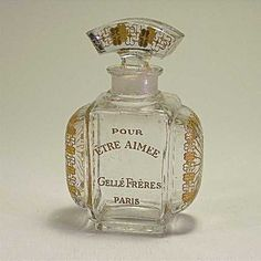 Lot: 167: Baccarat 1911 Gelle Freres Perfume Bottle, Lot Number: 0167, Starting Bid: $400, Auctioneer: Perfume Bottles Auction, Auction: Perfume Bottles Auction, Date: May 1st, 2009 EDT