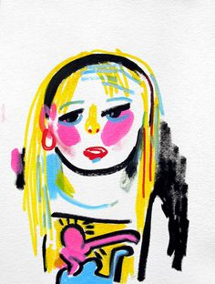 Jon Burgermans Drawings of girls Ive seen on Tumblr does what it says on the tin