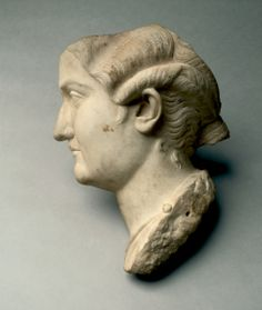 Head of a Woman (fragmentary), 100s Italy, Roman, 2nd Century  marble