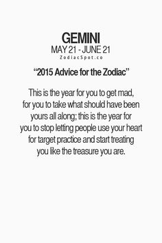 Read your sign's advice for 2015 here