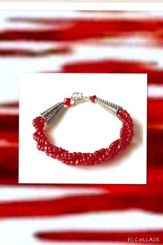 Vibrant Red by Coco on Etsy