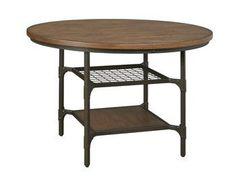Industrial Farmhouse Round Kitchen Table