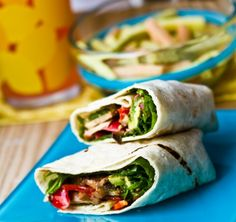 Smokey Mushroom Avocado Wrap  This amazing vegan wrap is full of flavor from the smokey mushrooms. Make it tonight for an easy vegan dinner!