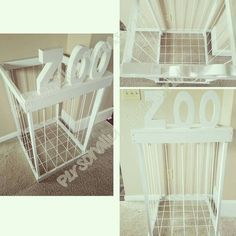 Stuffed Animal Zoo Stuffed Animal Storage by PersonallyTreasured