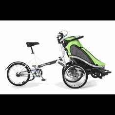 Zigo Stroller Bike, Kids Bike Trailer, Jogging Stroller, Baby Stroller Bakfiets Store. I would like one of these with a double stroller