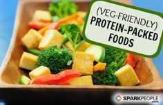Meet the Best Meatless Protein Sources via @SparkPeople