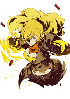 Yang Xiao Long from RWBY © Rooster Teeth Productions Enjoy!