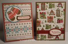 Since I was behind on Christmas cards this year, I was looking for easy, but not boring, Christmas card ideas. I saw these cards that Beth created using the Snow Festival DSP and was inspired. Thi...