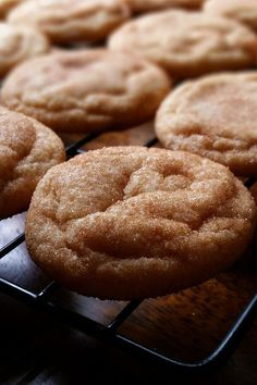 "Mrs. Sigg's Snickerdoodles | ""FABULOUS recipe. I have made these before and they were a big hit!"" #cookies #cookierecipes #bakingrecipes #dessertrecipes #cookieideas"