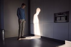 A character who leaves light shadows?