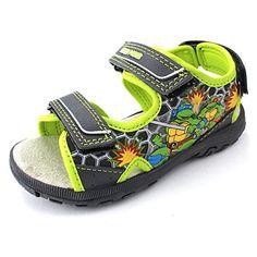 TMNT Ninja Turtles Boys Grey Sport Sandals Shoes (10 M US Toddler) Nickelodeon http://www.amazon.com/dp/B00UM54AXG/ref=cm_sw_r_pi_dp_ZODcvb0574FDN
