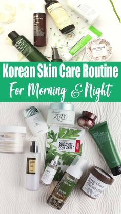10 Step Korean Skin Care Routine Morning And Night – Together with seven more . - 10 Step Korean Skin Care Routine Morning And Night – Together with seven more measures than your - Face Care Routine, Skin Care Routine Steps, Skin Routine, Night Routine, Oily Skin Care, Skin Care Regimen, Korean Morning Skincare Routine, Best Skincare Products, Beauty Products