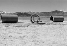 Nancy Holt, Sun Tunnels, 1973-76. Retis