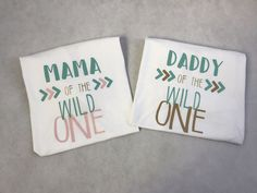 Wild One Parent/Relative of the Birthday Girl Shirts