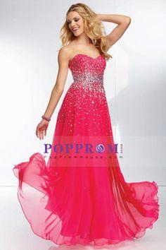 2014 prom dresses a-line sweetheart floor-length chiffon