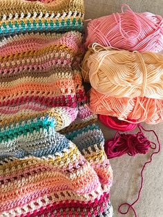 Stripes and Colours Blanket – Introduction