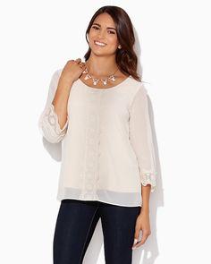 charming charlie | Callie Crochet Top | UPC: 410006899070 #charmingcharlie
