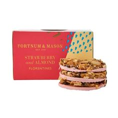 Strawberry & Almond Florentines, 160g Catalogue code: 2184987 £9.95