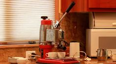 Part kitchen appliances, part works of art, vintage espresso machines are today highly sought-after collectibles. Their unique way of extracting flavor from the coffee grounds makes for an interesting morning ritual...