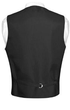 Men's Paisley Design Dress Vest NeckTie CHARCOAL GREY Neck Tie Set  http://www.yourneckties.com/mens-paisley-design-dress-vest-necktie-charcoal-grey-neck-tie-set-2/