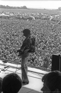 Jimi Hendrix Plays His Last Concert