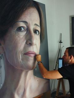 Ruben Belloso Artist | ... photo-realistic portraits with pastel made by Rubén Belloso Adorna