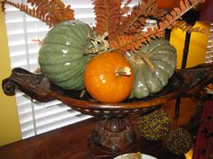 Fall Luncheon Buffet Centerpiece