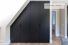 Best Indoor Garden Ideas for 2020 - Modern Bedroom Loft, Bedroom Storage, Home Decor Bedroom, Modern Bedroom, Attic Closet, Walk In Closet, Roof Storage, Locker Storage, Slanted Ceiling Bedroom
