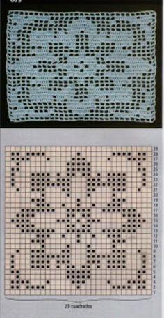 Filet Crochet Charts, Crochet Cross, Crochet Diagram, Crochet Home, Crochet Motif, Crochet Doilies, Crochet Stitches, Crochet Patterns, Crochet Cushions