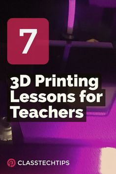 If you're looking for inspiration Thingiverse is full of fantastic resources for educators including 3D printing lessons for a range of classrooms.